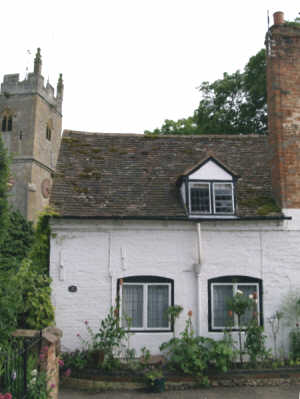 Church Cottage from the Square
