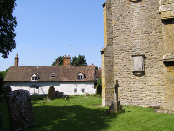 Church Cottage from St. Helen's Churchyard